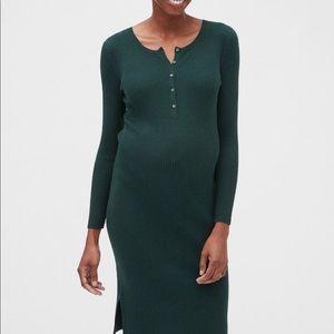 Gap maternity sweater dress